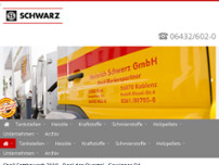 Heinrich Schwarz GmbH website screenshot