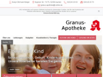 Granus-Apotheke website screenshot