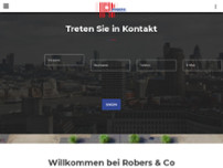 Robers und Co. West GmbH website screenshot