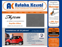Autoka Kessal website screenshot