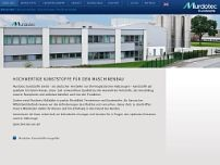 Murdotec Kunststoffe GmbH & Co.KG website screenshot