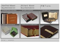 Richard Mayer, Buchbindermeister GmbH website screenshot
