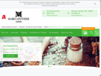 Markt-Apotheke Nahne website screenshot