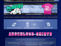 Mc-Shirt website screenshot