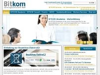 BITKOM Servicegesellschaft mbH website screenshot