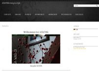 ASIATIKA - living in style; Home interior - ASIA Antiques website screenshot