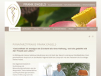 Frank Engels website screenshot