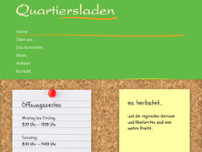Quartiersladen e.V. website screenshot