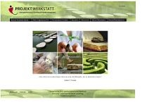 Projektwerkstatt Horst Oberle website screenshot