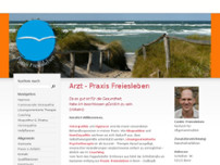 Cedric Freiesleben website screenshot