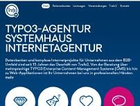Trafo 2 GmbH media engineering website screenshot