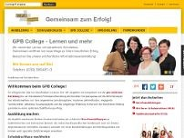 GFN COLLEGE GmbH website screenshot