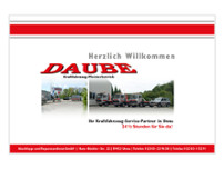Daube GmbH website screenshot
