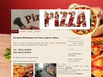 Pizza Express Mersa Kerim website screenshot