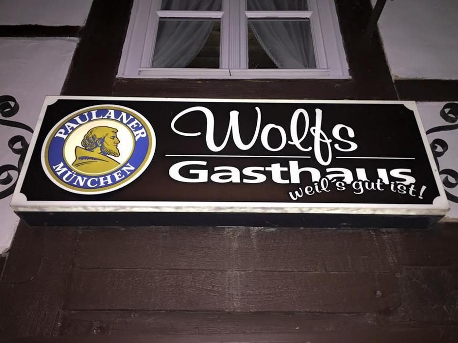 wolfs gasthaus restaurant deutsche k che in braunschweig lehndorf gro e stra e 26. Black Bedroom Furniture Sets. Home Design Ideas