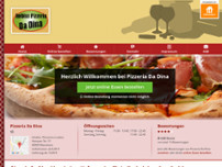 Pizzeria Bei Dina website screenshot