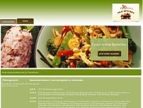 Thai Kitchen website screenshot