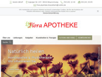 Flora Apotheke Stöckheim website screenshot