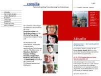 Consilia website screenshot