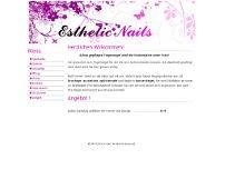 Martina Esthetic Nails website screenshot