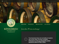 Königsbräu Majer GmbH & Co.KG website screenshot
