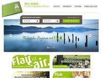 Flair Hotel zum Rehberg website screenshot