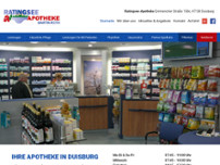 Martin Roth Ratingsee Apotheke website screenshot