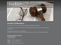 Eva Koch website screenshot