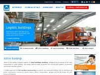 Lindab Buildings GmbH website screenshot