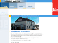Leube-Werk GmbH & Co. KG website screenshot