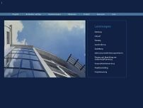 Architekturbüro Thomas Klingel website screenshot