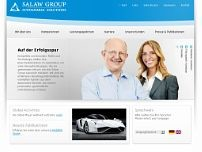 Salaw & Partner GmbH website screenshot