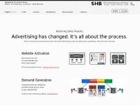SHB Idividual Marketing & Advertising Stuttgart GmbH website screenshot