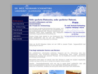 Hermann Schwarting website screenshot