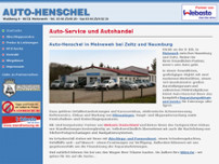 Henschel website screenshot