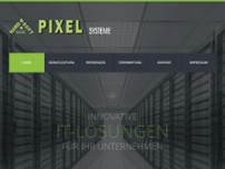 PIXEL Systeme website screenshot