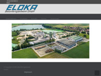 ELOKA Betonfertigteilwerk GmbH website screenshot