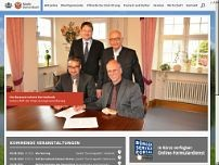 Markt Burtenbach website screenshot