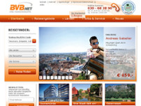 Freizeitreisen KG website screenshot
