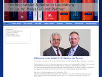 Meissner Dr. jur. u. Andere website screenshot