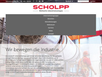 Scholpp GmbH website screenshot