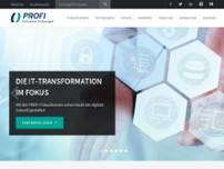 PROFI Engineering Systems AG website screenshot