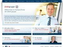 direkt gruppe website screenshot