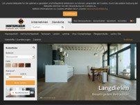 Parkett Hinterseer GmbH Berlin website screenshot