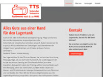 TTS-Technischer Tankservice GmbH website screenshot