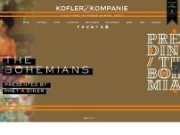 Kofler & Kompanie AG website screenshot