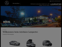 Lampartner GmbH&Co.KG website screenshot