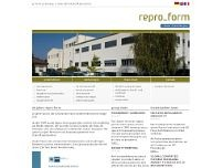 Repro-Form GmbH website screenshot