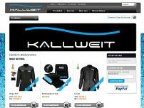 Kallweit GmbH website screenshot