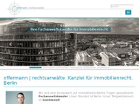 Carsten Offenbach website screenshot